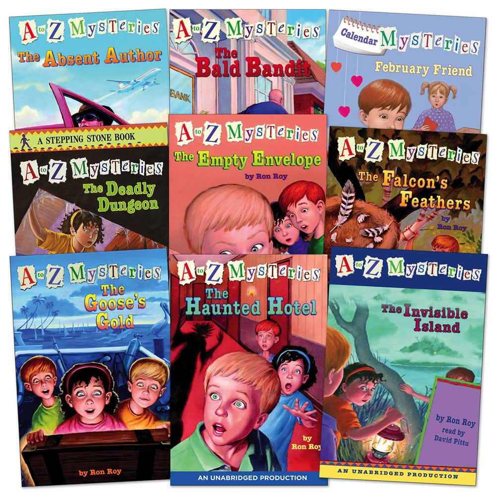 A to Z Mysteries Set 1 - Set of 9