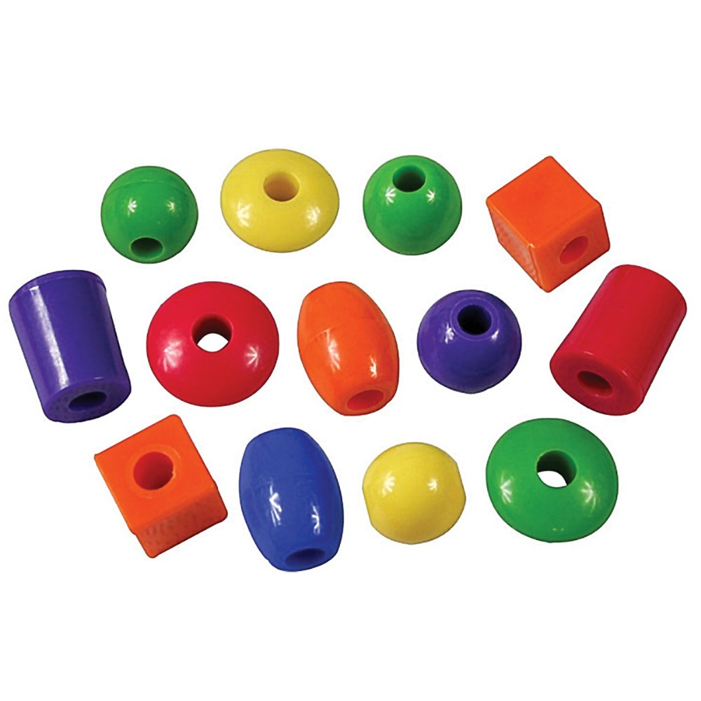 Alternate Image #1 of Jumbo Lacing Beads - 360 Pieces