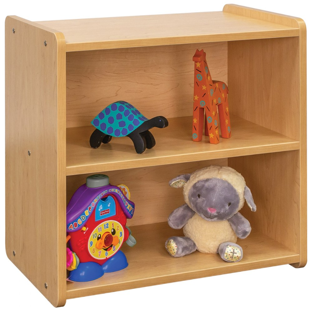 Alternate Image #3 of Toddler Solid Back Storage Center - Natural