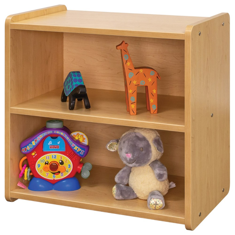Alternate Image #4 of Toddler Solid Back Storage Center - Natural
