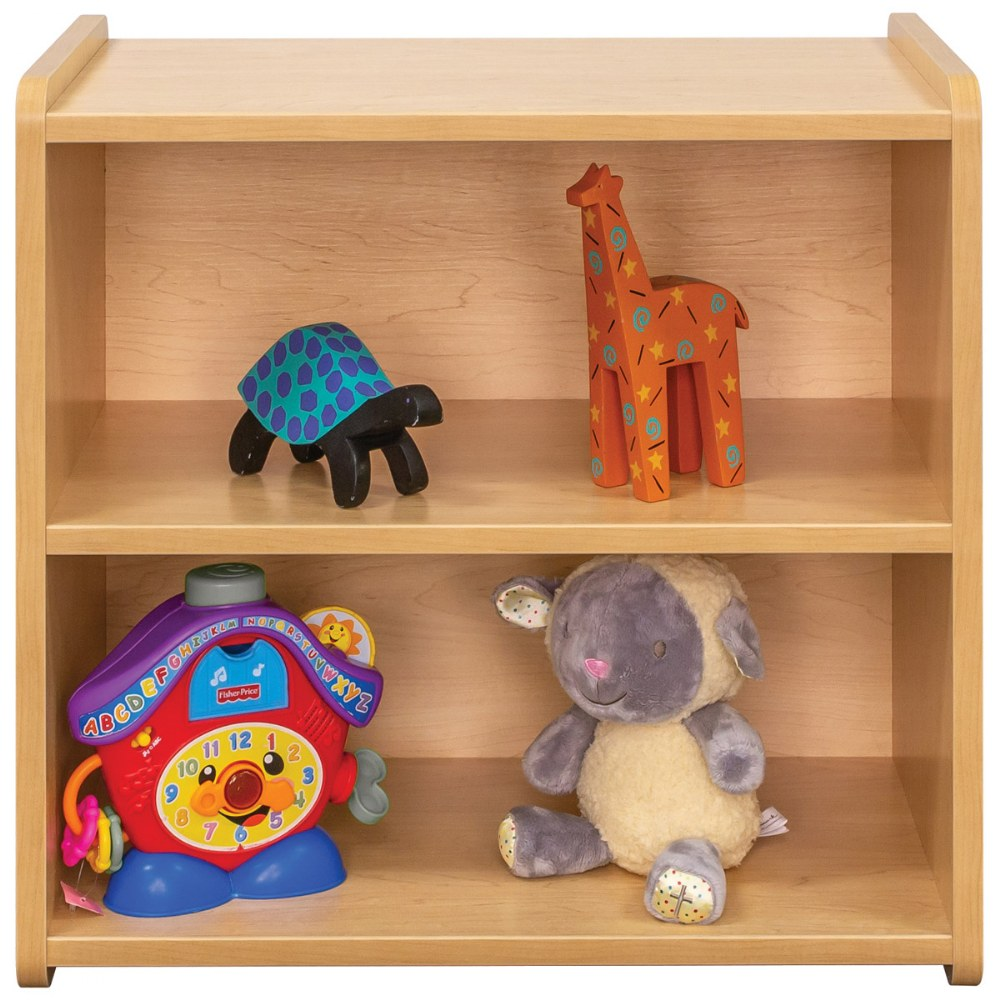 Alternate Image #5 of Toddler Solid Back Storage Center - Natural