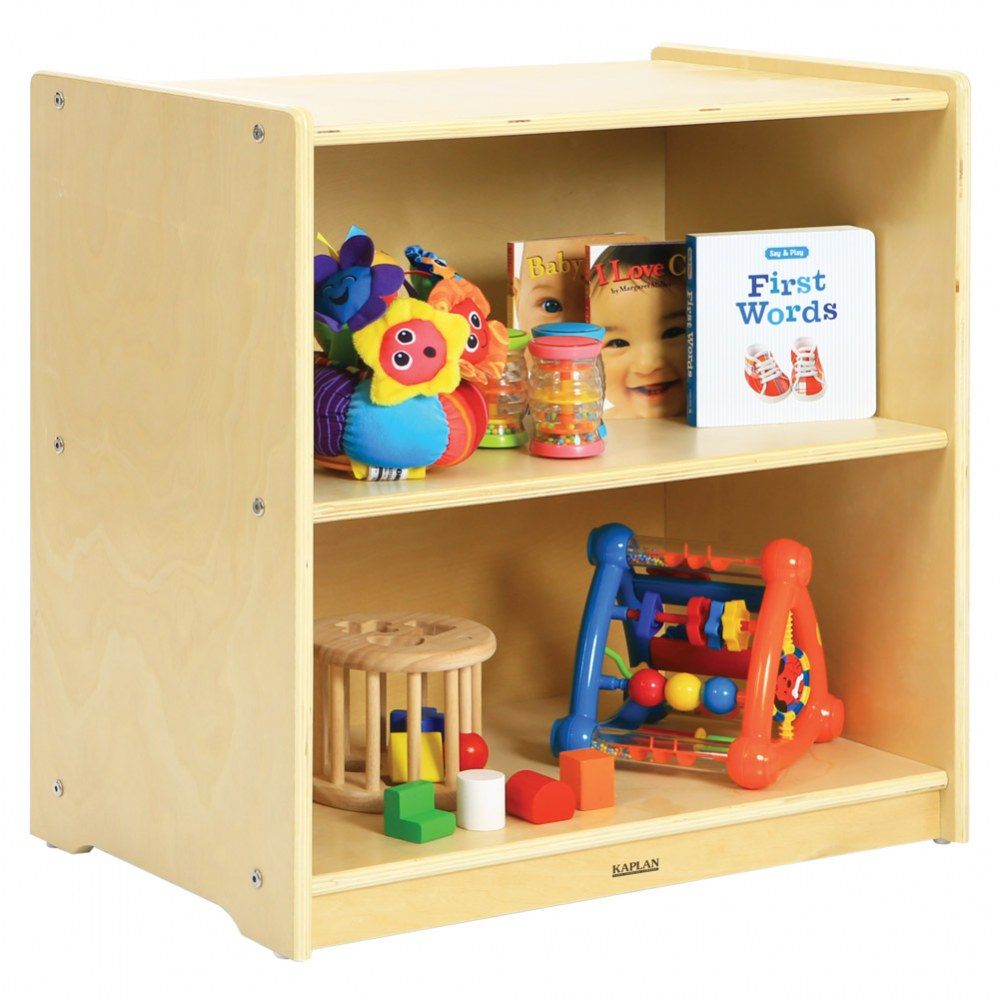Alternate Image #2 of Carolina Mini Toddler Storage Unit - Solid Back