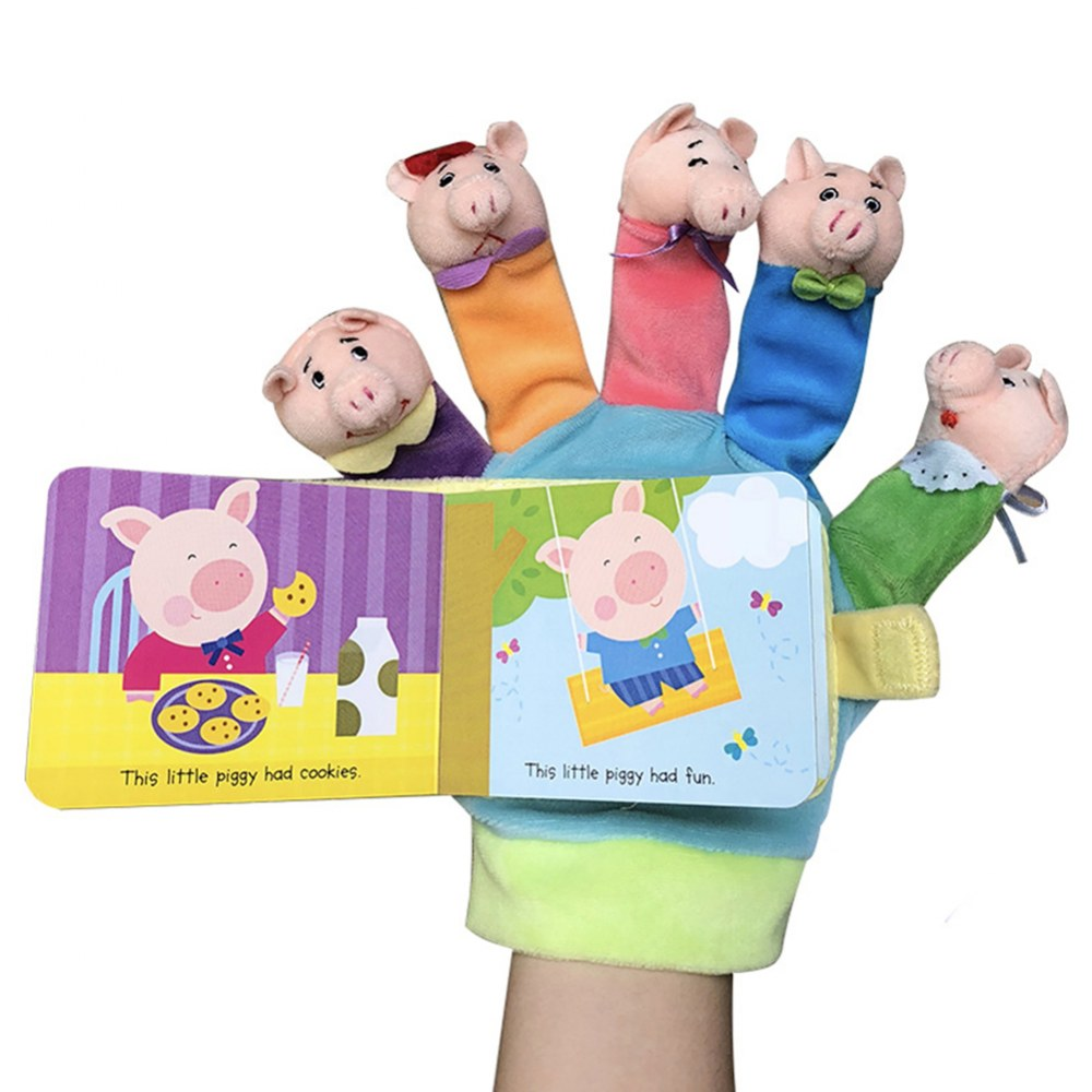 Alternate Image #1 of Hand Puppet Book Set 1 - Set of 2