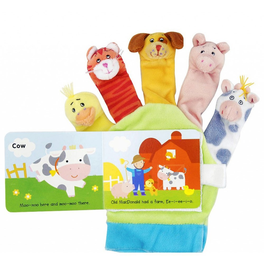 Alternate Image #2 of Hand Puppet Book Set 1 - Set of 2