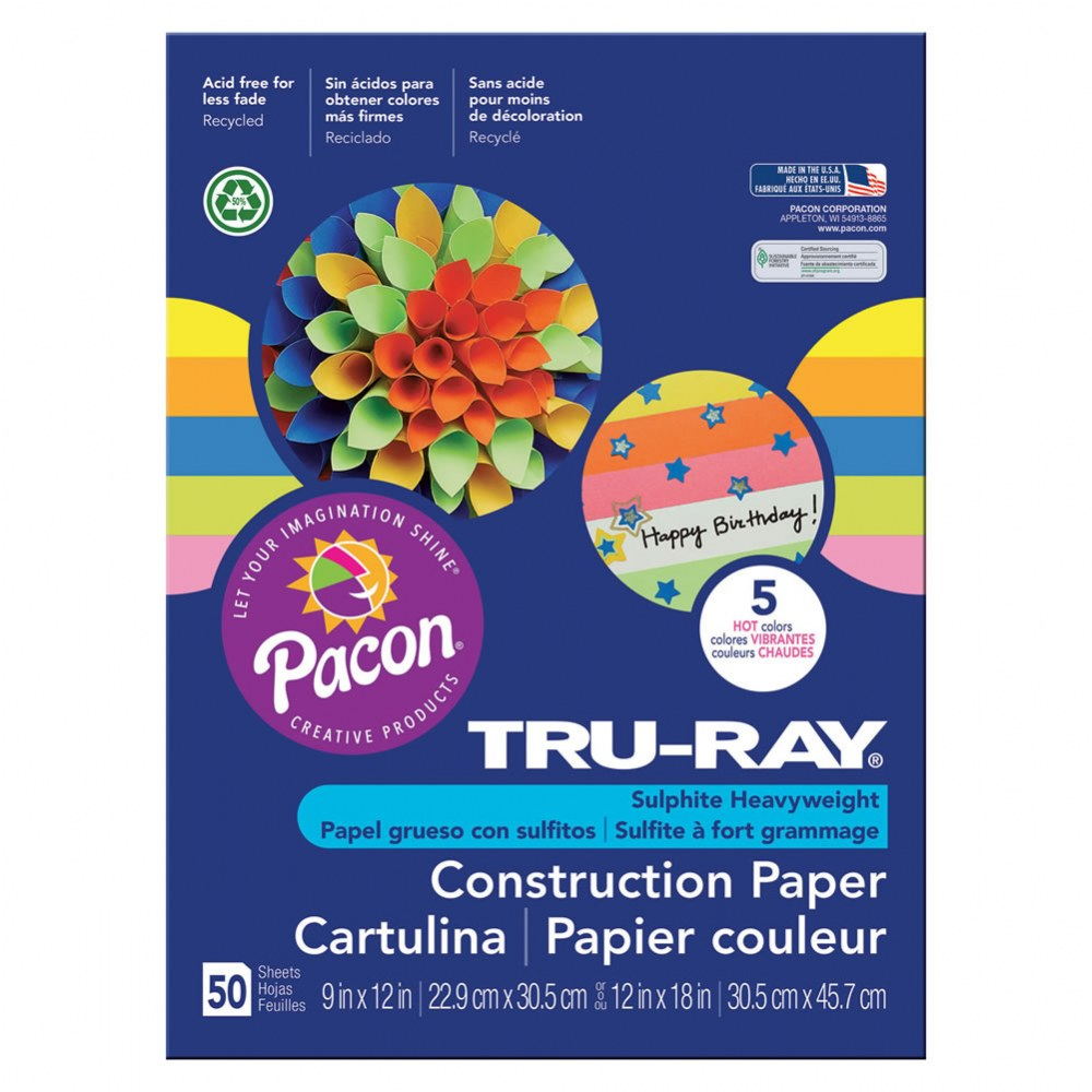 Alternate Image #8 of Tru-Ray® Construction Paper