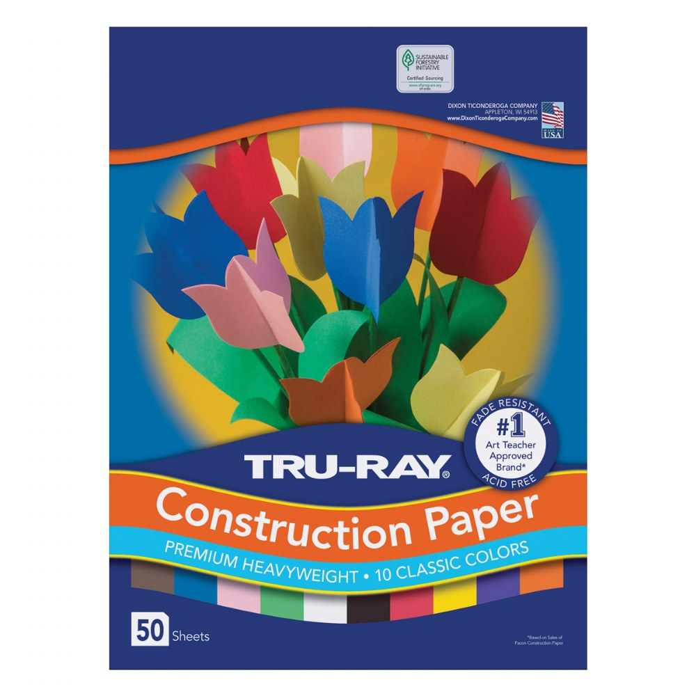 Alternate Image #2 of Tru-Ray® Construction Paper