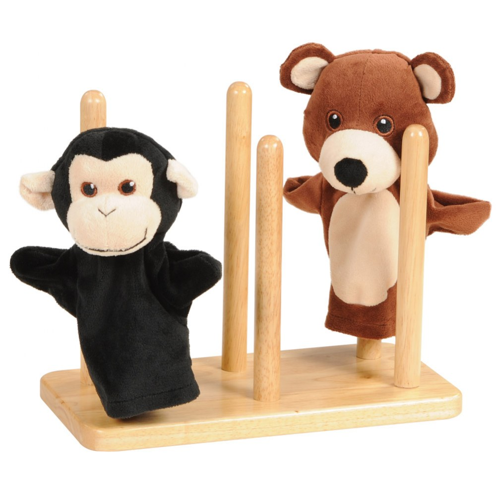 Alternate Image #1 of Tiered Puppet Stand