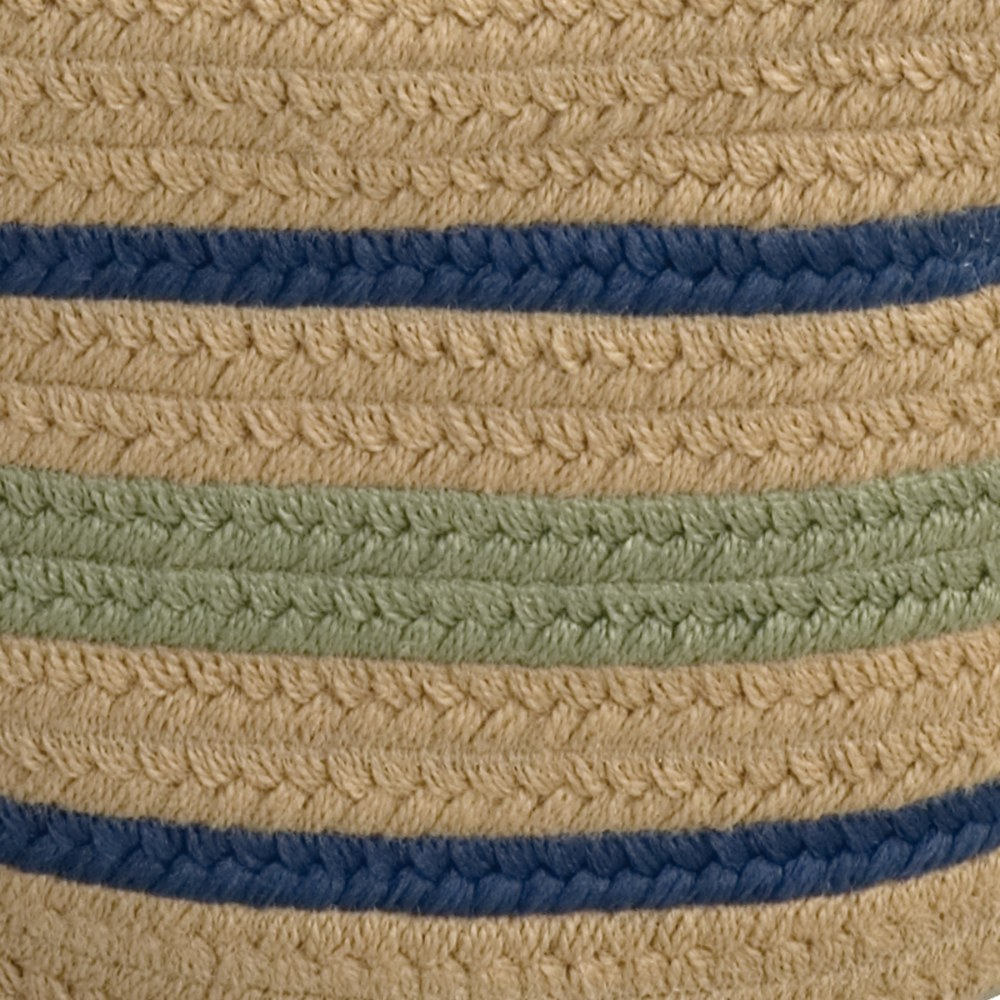 "Alternate Image #1 of Harwood Stripe Basket 18"" x 12"""