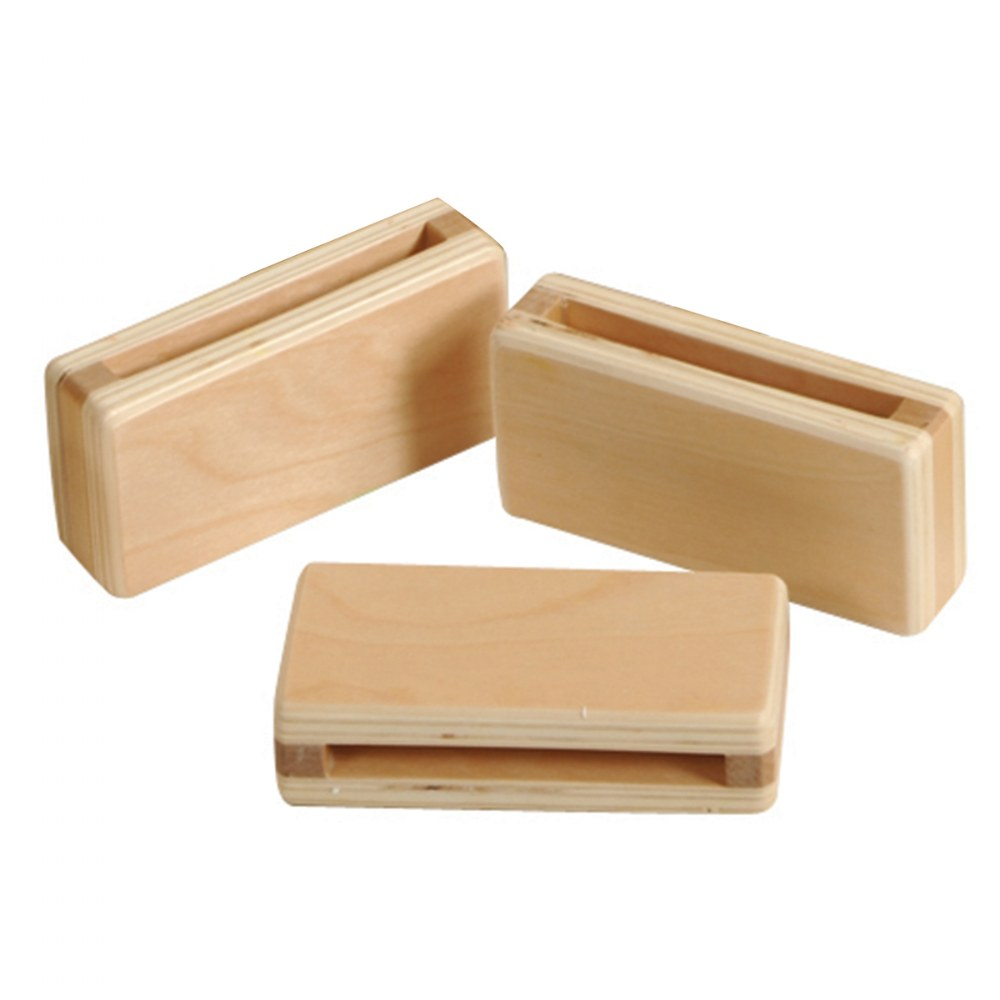 Alternate Image #1 of Mini Hollow Blocks in Different Shapes and Sizes - 24 Piece Set