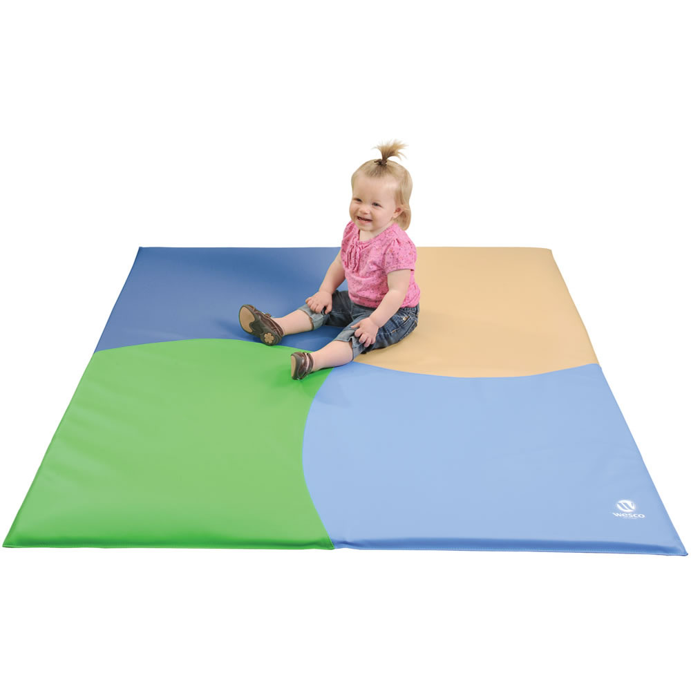 Four Color Activity Mat