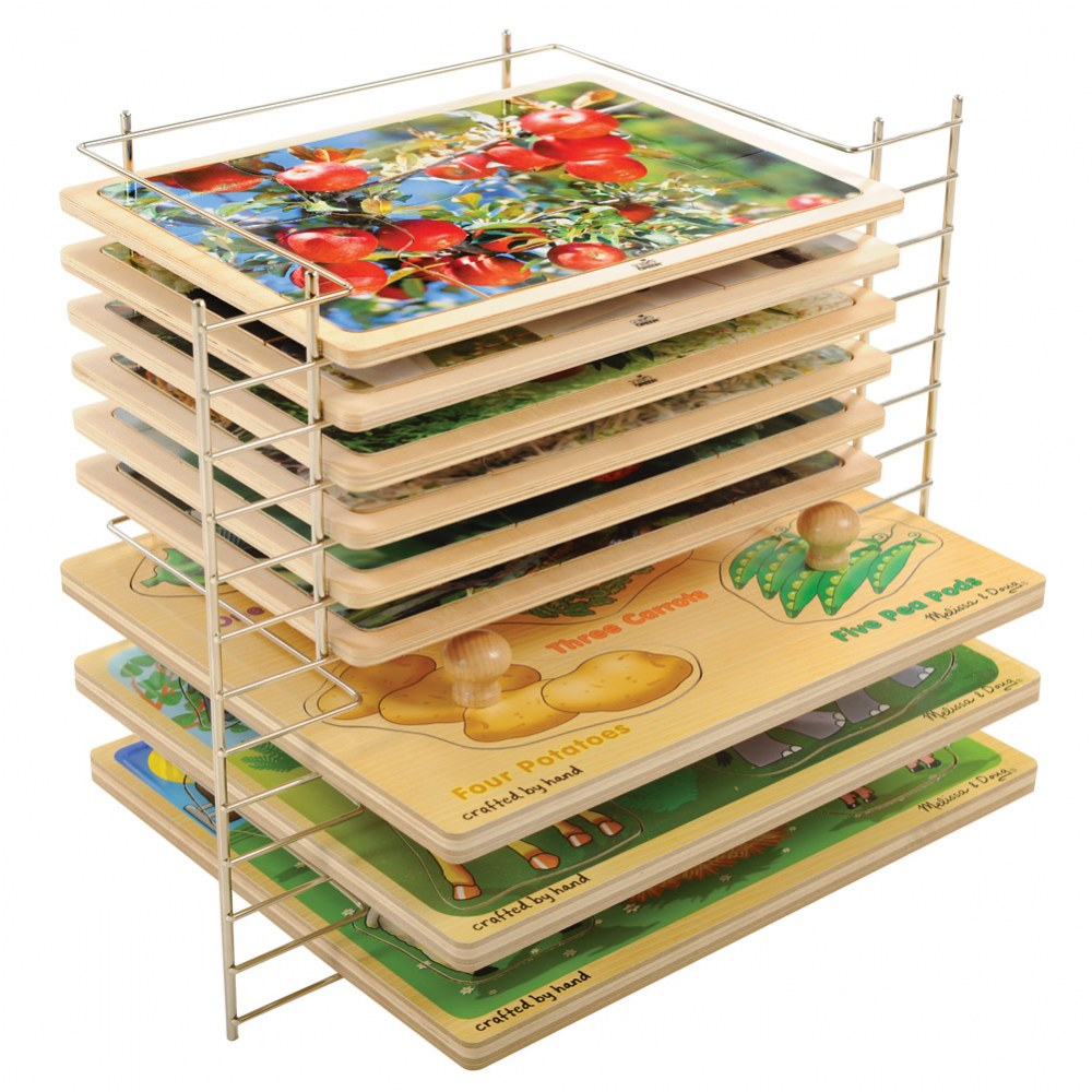 Alternate Image #1 of Deluxe Wire Puzzle Rack