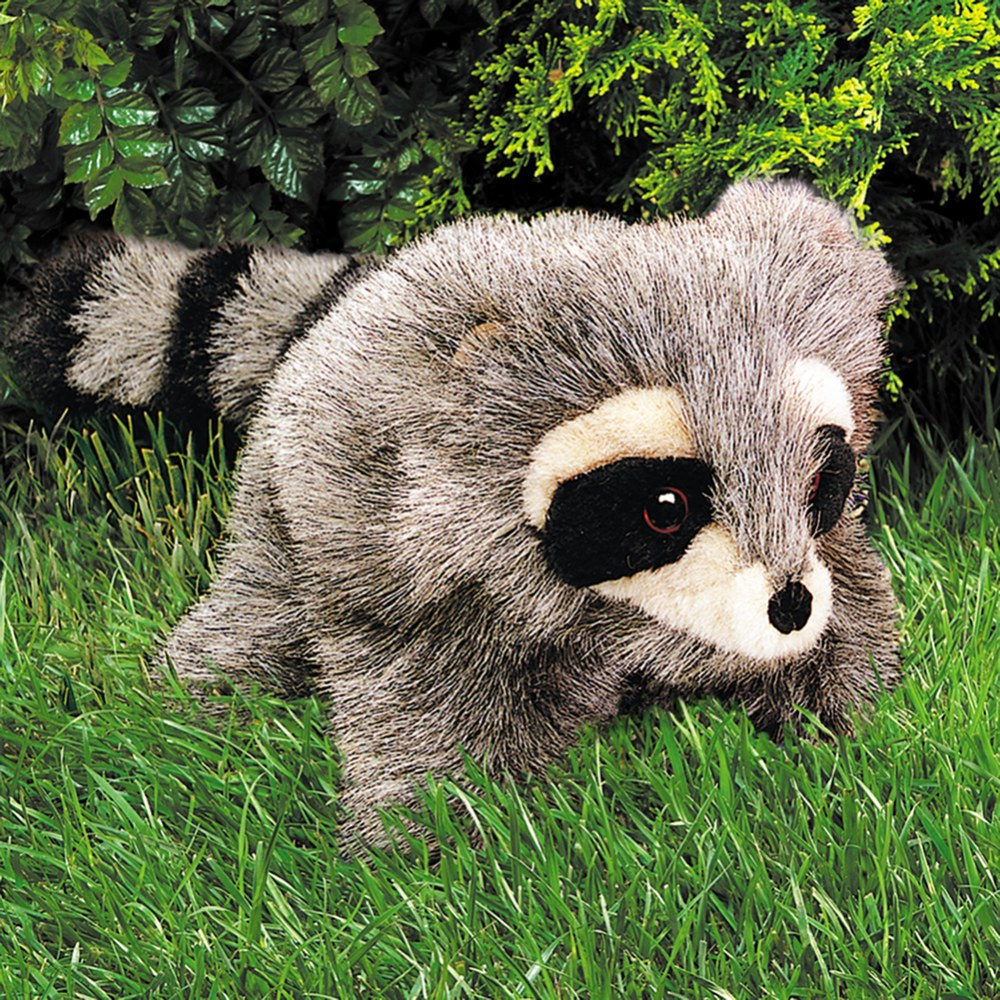 Alternate Image #1 of Baby Raccoon Hand Puppet