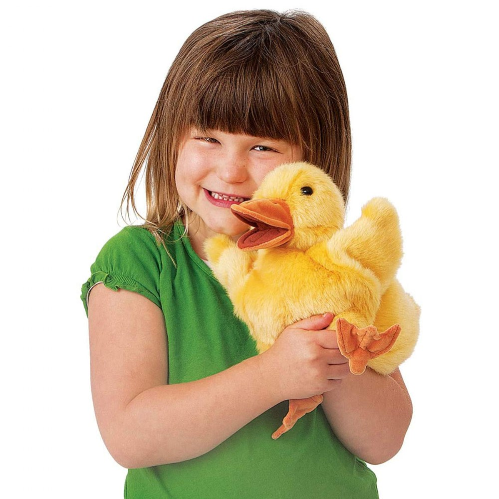 Alternate Image #2 of Duckling Hand Puppet