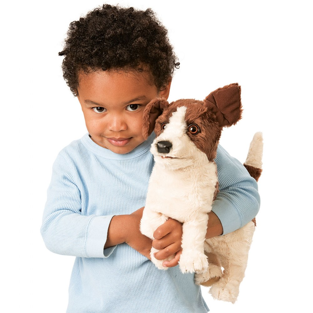 Alternate Image #2 of Jack Russell Terrier Hand Puppet