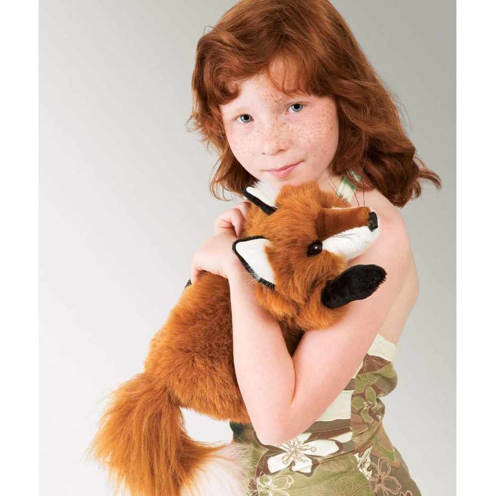 Alternate Image #2 of Small Red Fox Hand Puppet