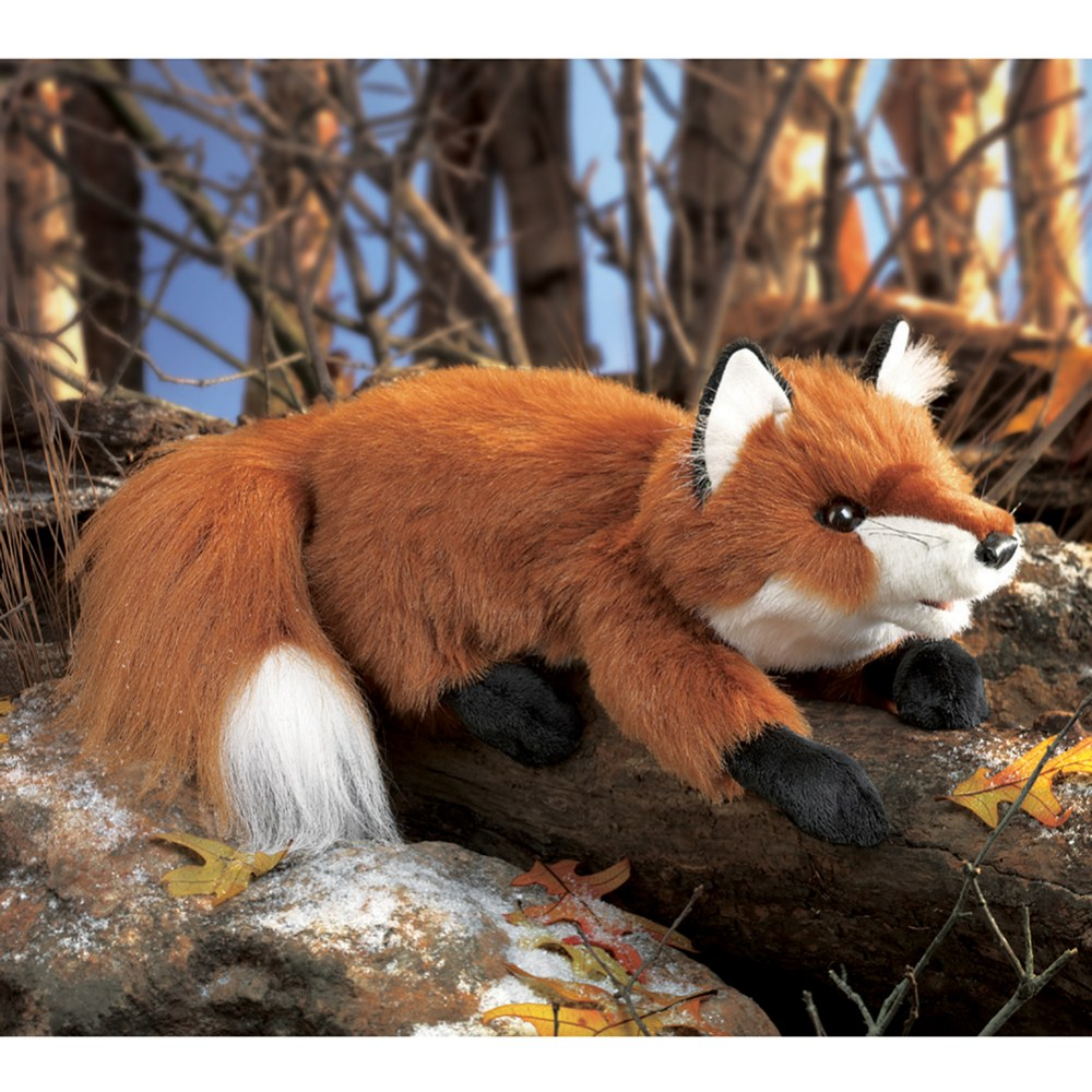 Alternate Image #3 of Small Red Fox Hand Puppet