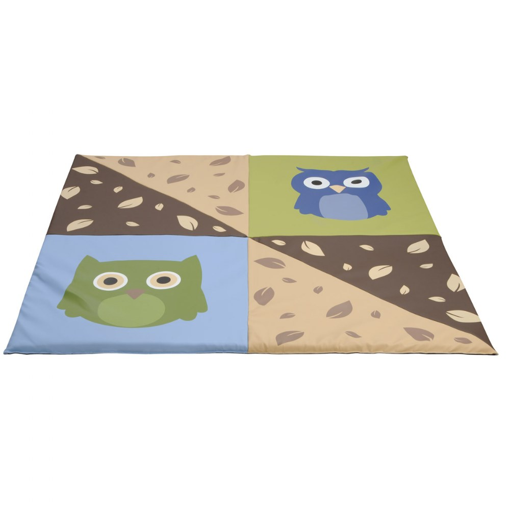 Alternate Image #1 of Infant and Toddler Owl Crawley Mat