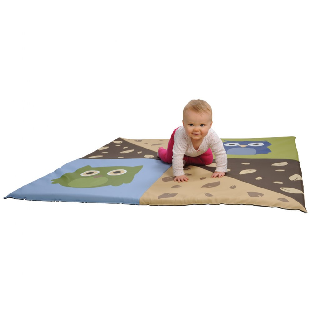 Alternate Image #2 of Infant and Toddler Owl Crawley Mat