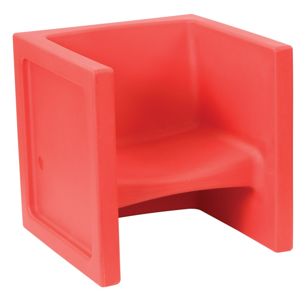 Cube Chair - Set of 4 - Red