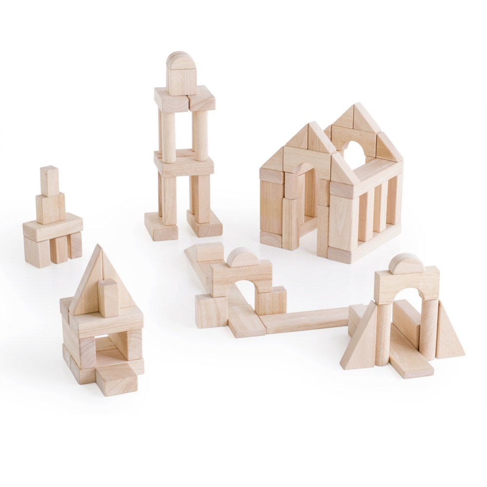 Wooden Unit Block Set C - 84 Piece Set