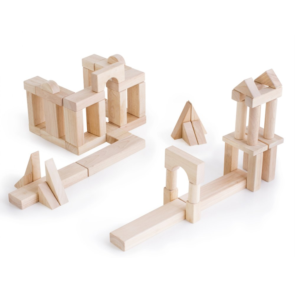 Alternate Image #2 of Wooden Unit Block Set C - 84 Piece Set