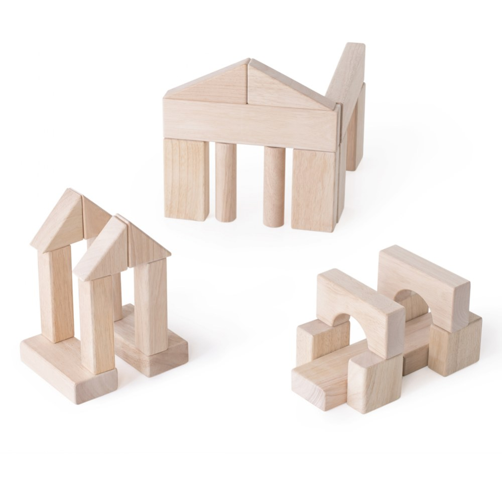 Alternate Image #3 of Wooden Unit Block Set C - 84 Piece Set