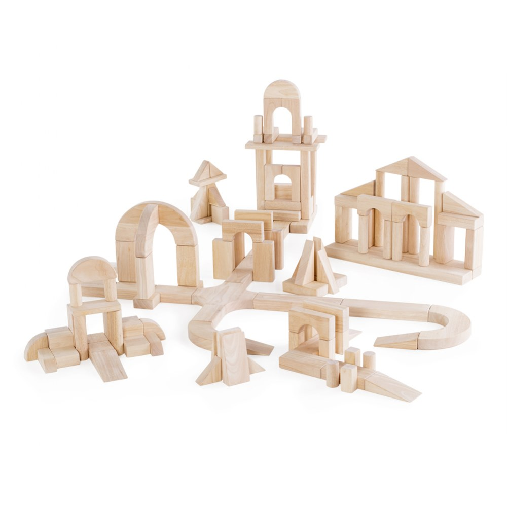 Unit Block Set D - 135 Piece Set