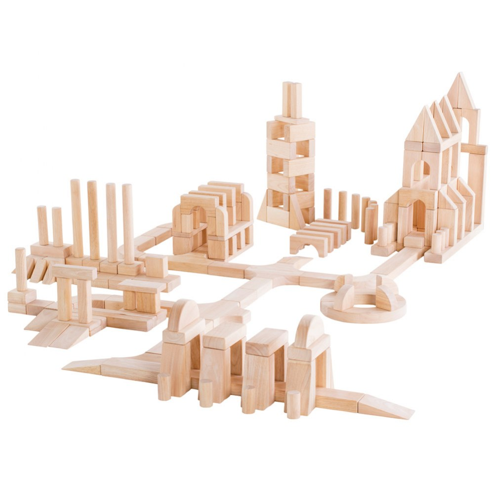 Unit Block Set E - 218 Piece Set