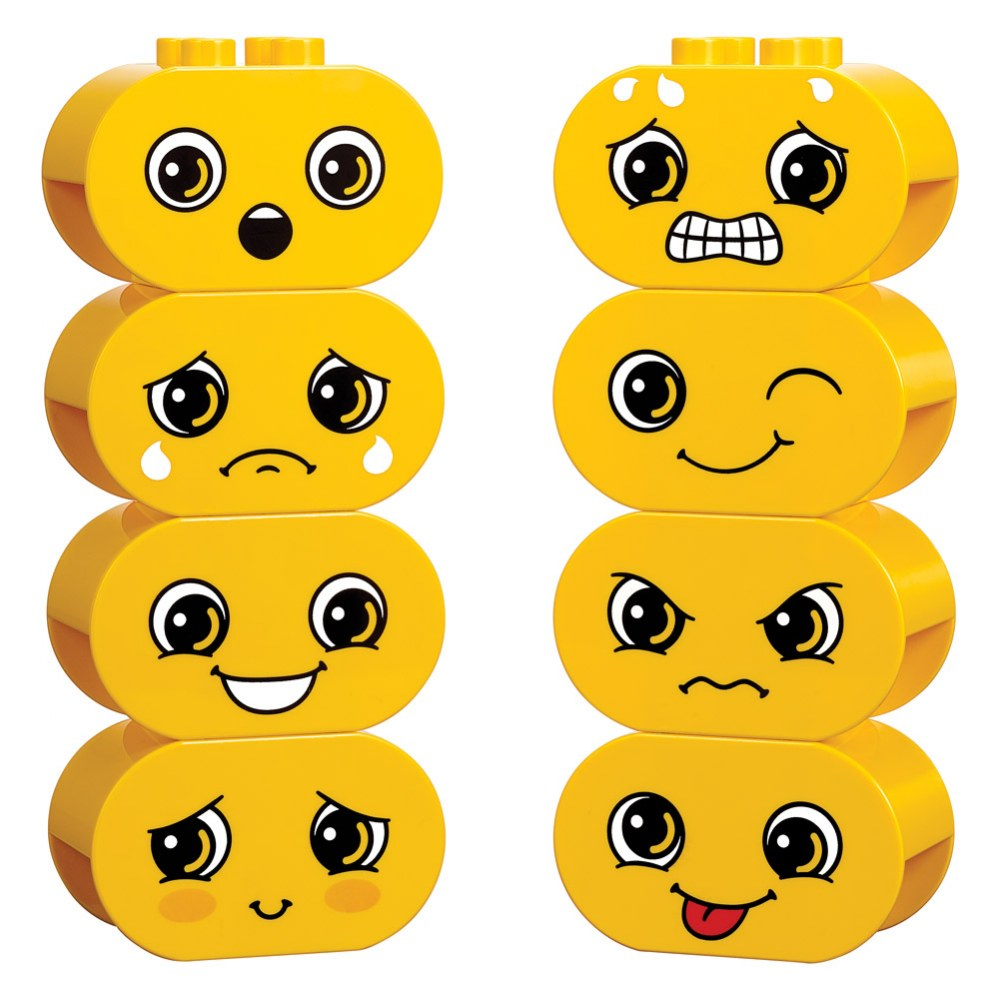 "Alternate Image #2 of LEGO® DUPLO® Build Me ""Emotions"" - 45018"