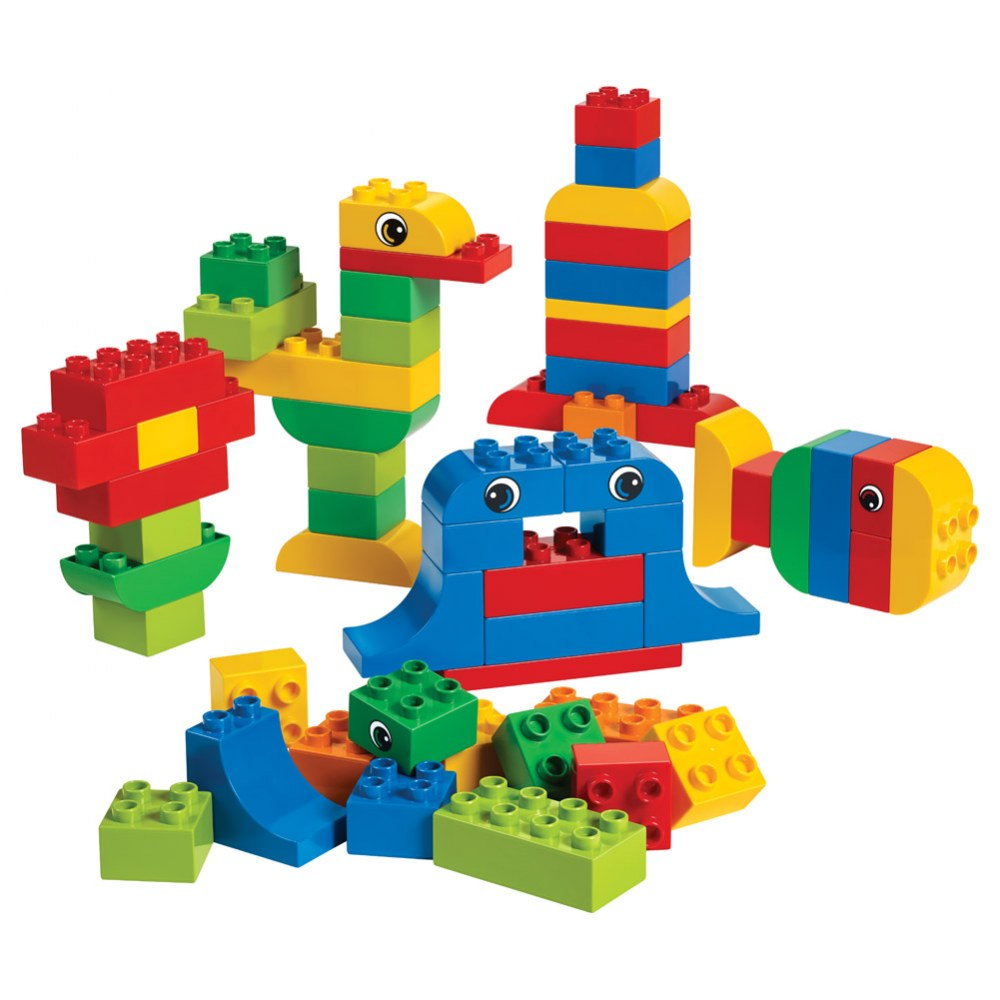 Alternate Image #1 of LEGO® DUPLO® Creative Brick Set - 45019