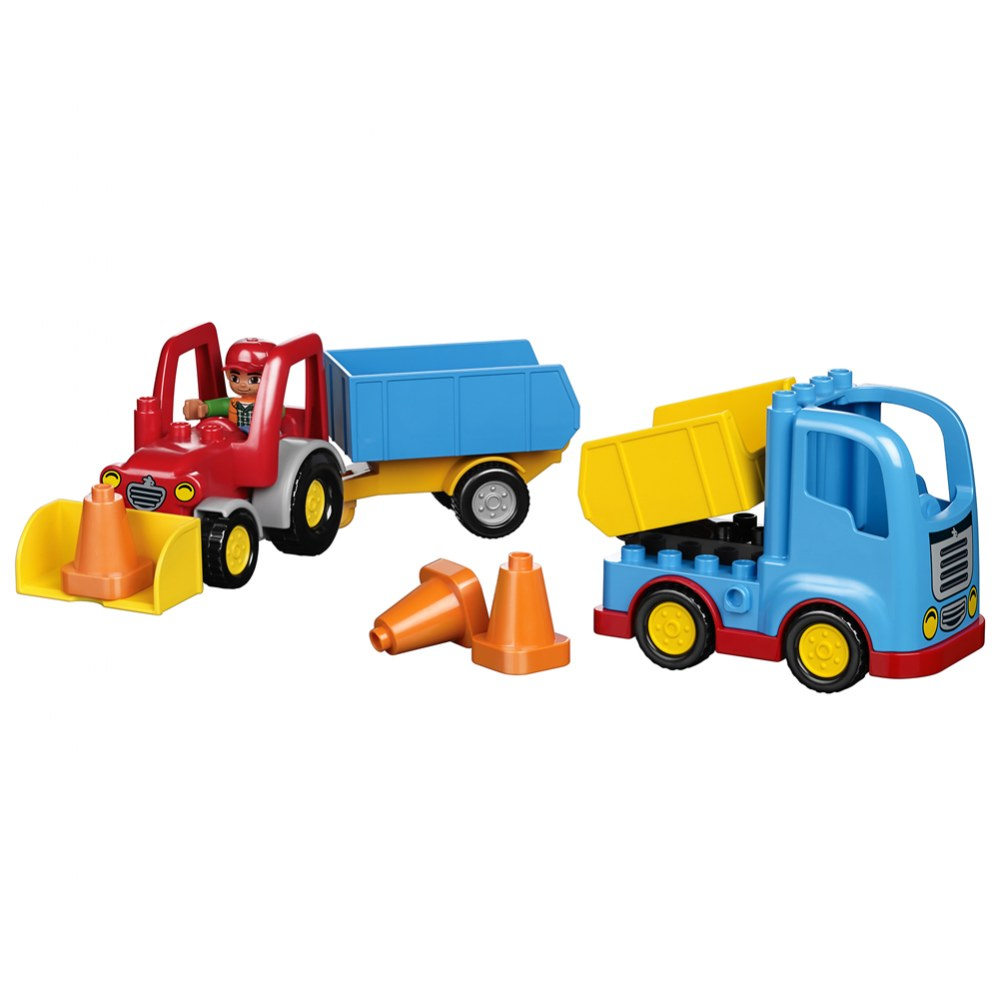 Alternate Image #1 of LEGO® DUPLO® Multi Vehicles Set (45006)
