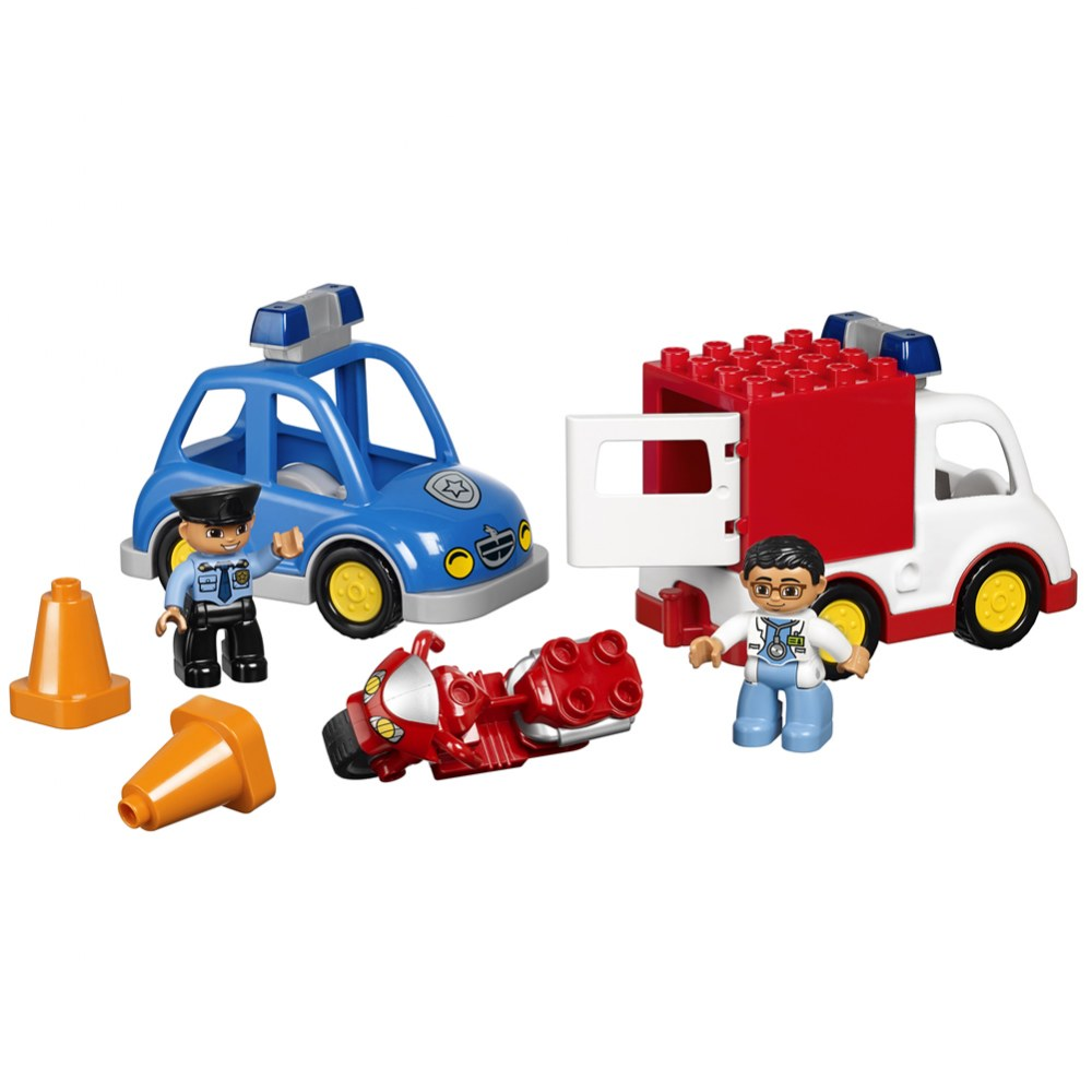 Alternate Image #3 of LEGO® DUPLO® Multi Vehicles Set (45006)