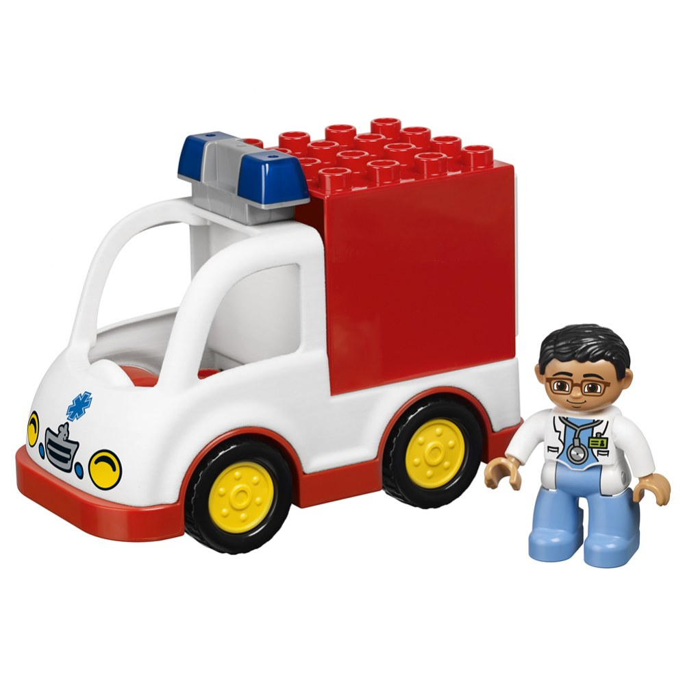 Alternate Image #4 of LEGO® DUPLO® Multi Vehicles Set (45006)