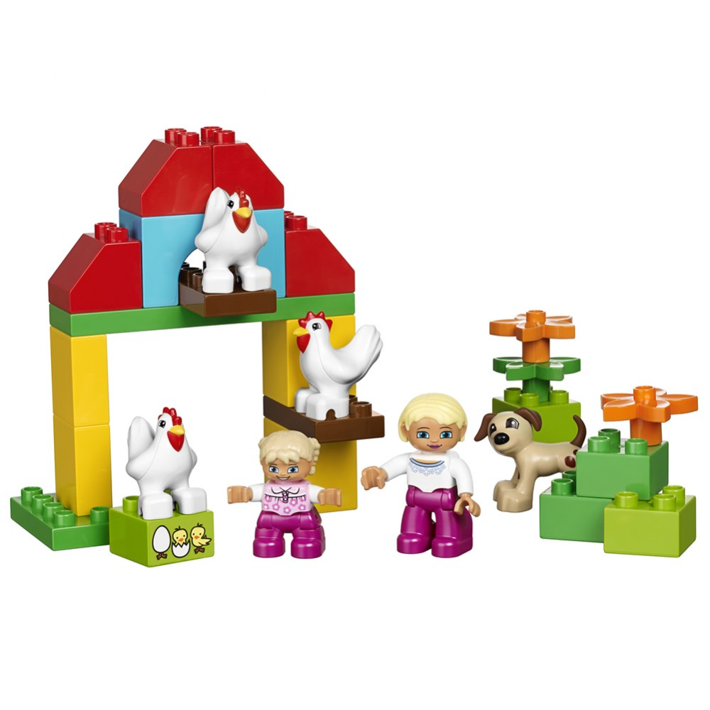 Alternate Image #4 of LEGO® DUPLO® Large Farm Set (45007)