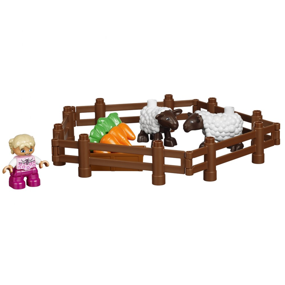 Alternate Image #5 of LEGO® DUPLO® Large Farm Set (45007)