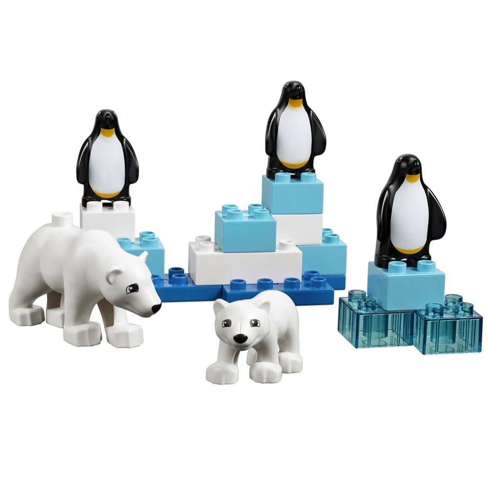 Alternate Image #3 of LEGO® DUPLO® Wild Animals Set - 45012