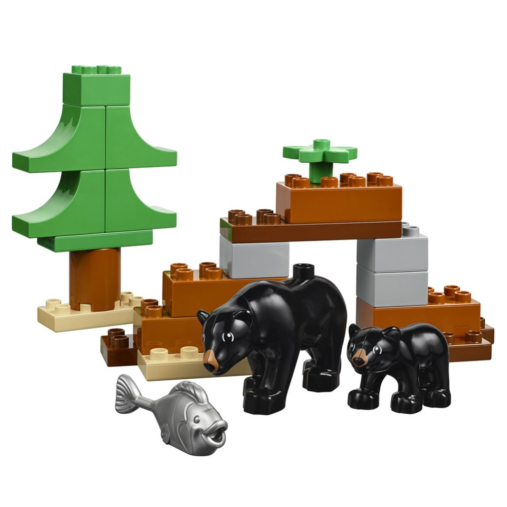 Alternate Image #4 of LEGO® DUPLO® Wild Animals Set - 45012
