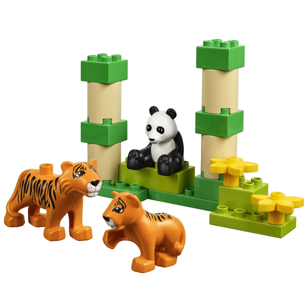 Alternate Image #5 of LEGO® DUPLO® Wild Animals Set - 45012