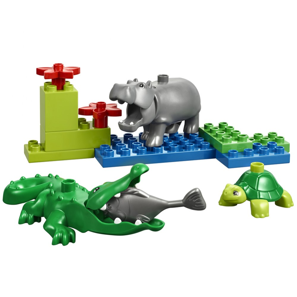 Alternate Image #6 of LEGO® DUPLO® Wild Animals Set - 45012