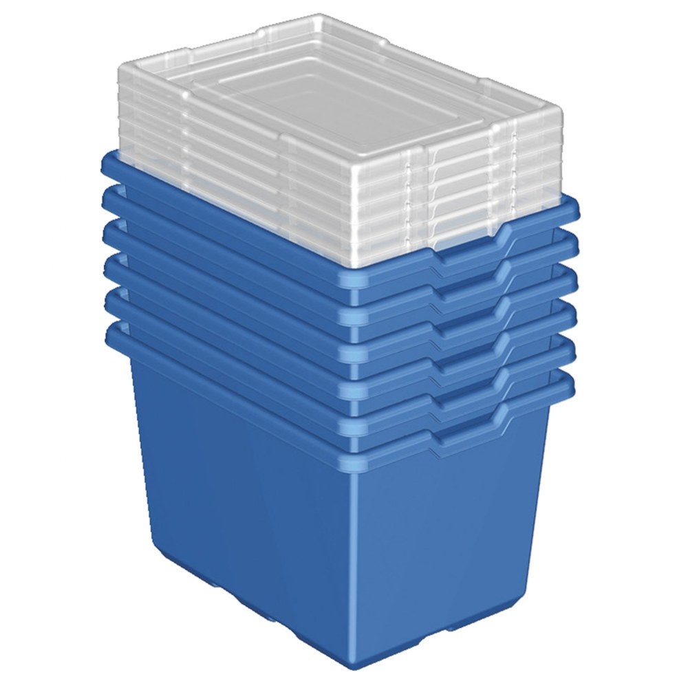 Alternate Image #1 of LEGO® XL Blue Storage Bins (9840) - Set of 6