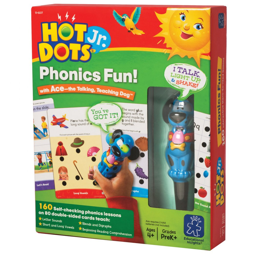 Alternate Image #1 of Hot Dots® Jr. Phonics Fun