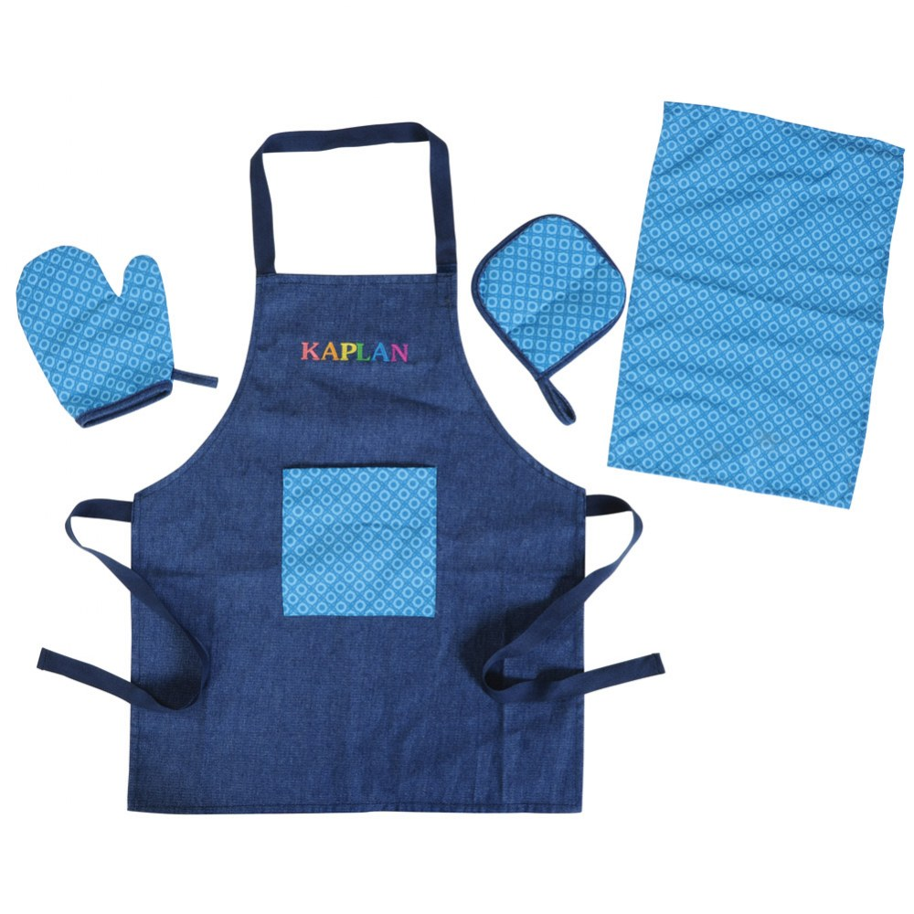 Lil' Cooks Chef Apron and Accessories Set