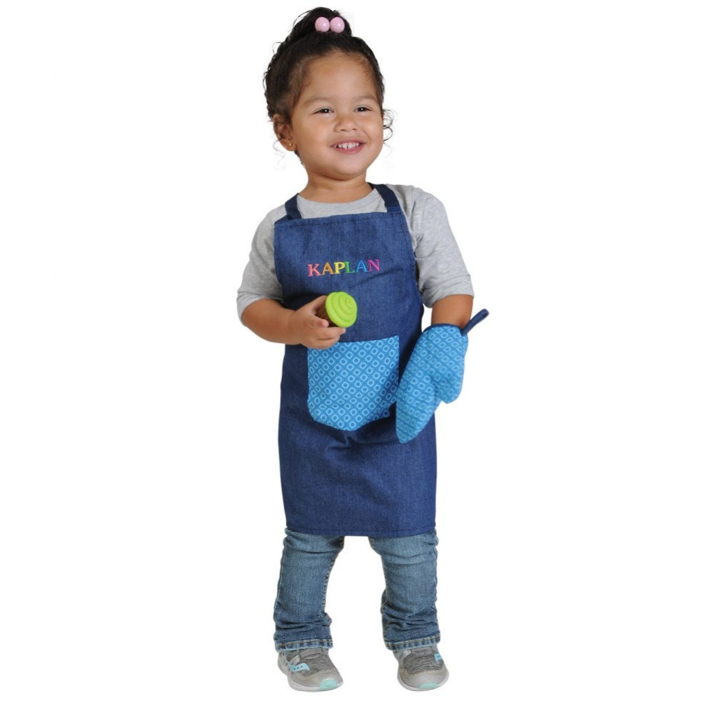 Alternate Image #1 of Lil' Cooks Chef Apron and Accessories Set