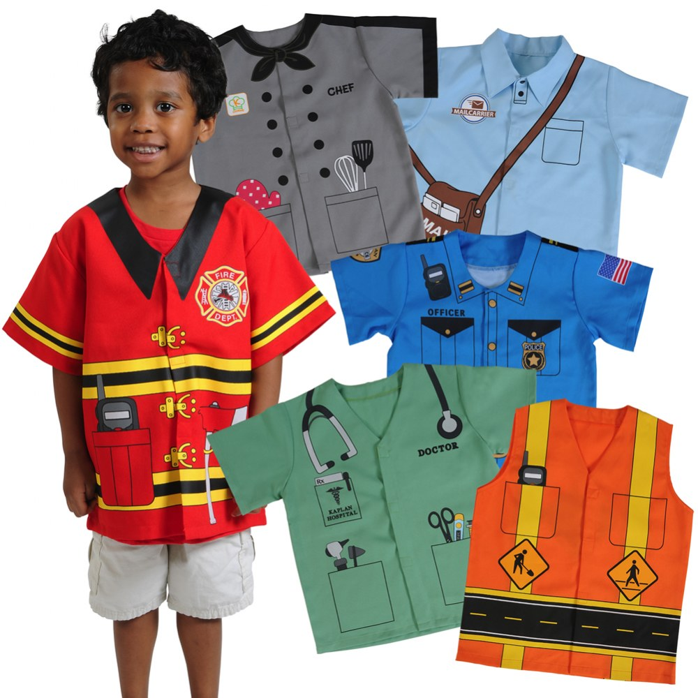 Community Preschool Polyester Dramatic Play Costumes - Set of 6