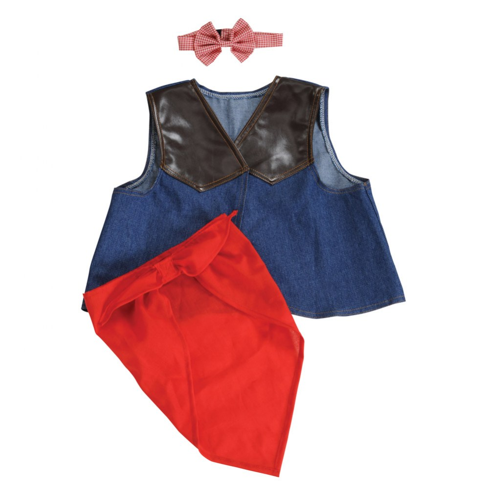 Alternate Image #6 of Pretend Play Dress-Up Trunk - 20 Pieces