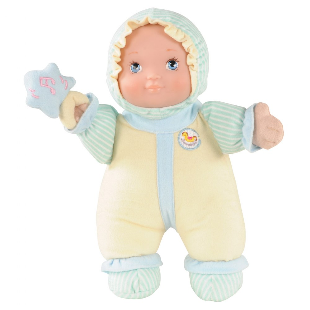"My 1st Baby Doll 12"" Soft Body Pretend Play Sensory Doll"