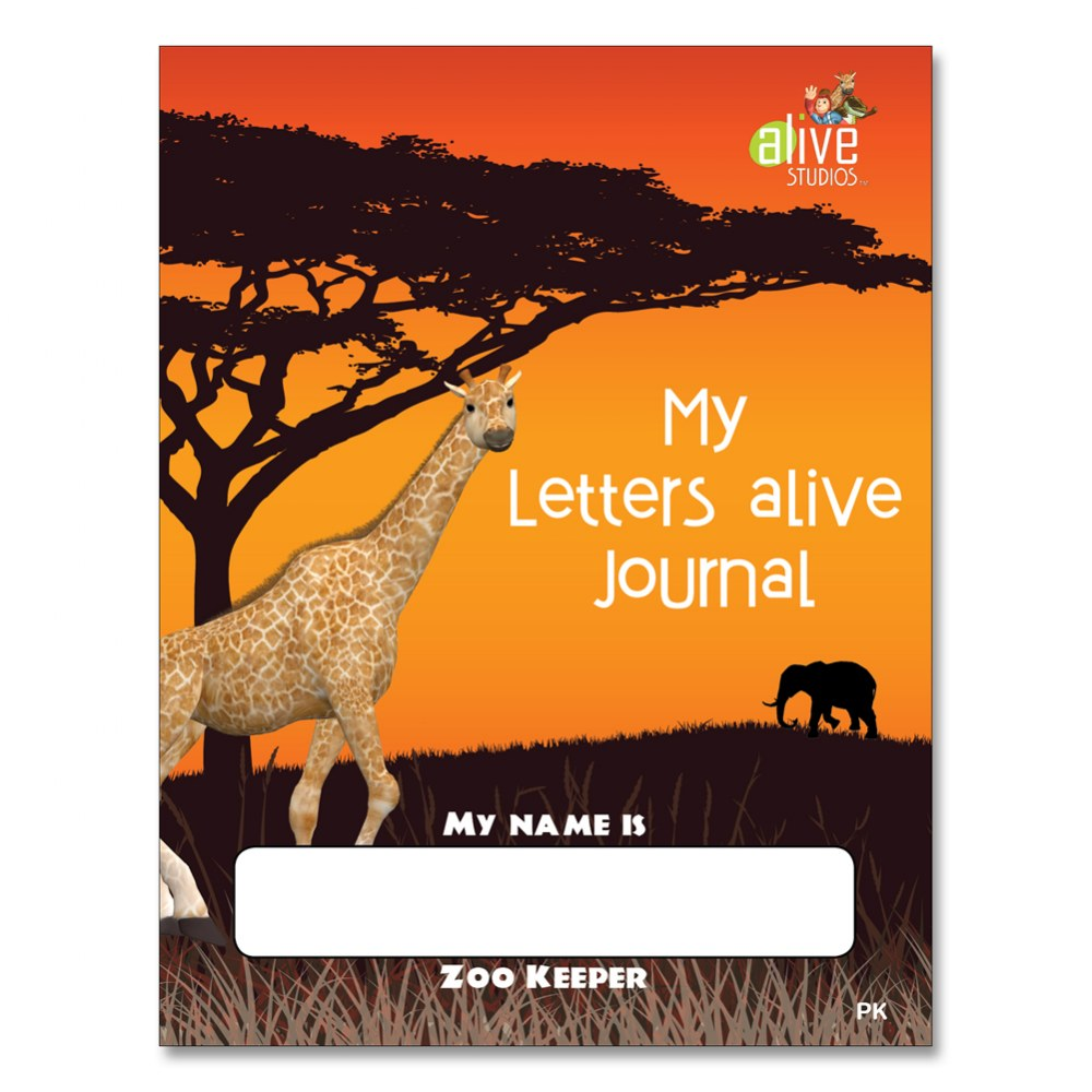 My Letters alive® Journal