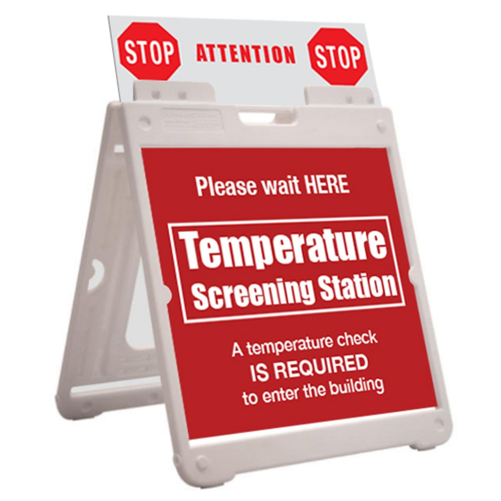 Alternate Image #4 of SimpoSquare™ A Frame Sign Holder