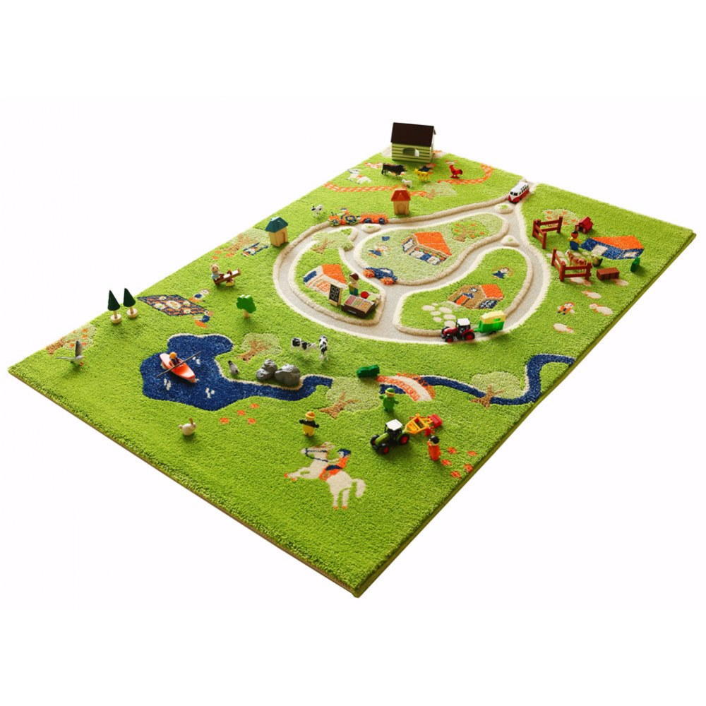 Alternate Image #2 of Farm 3D Rug - 3.25' x 5'