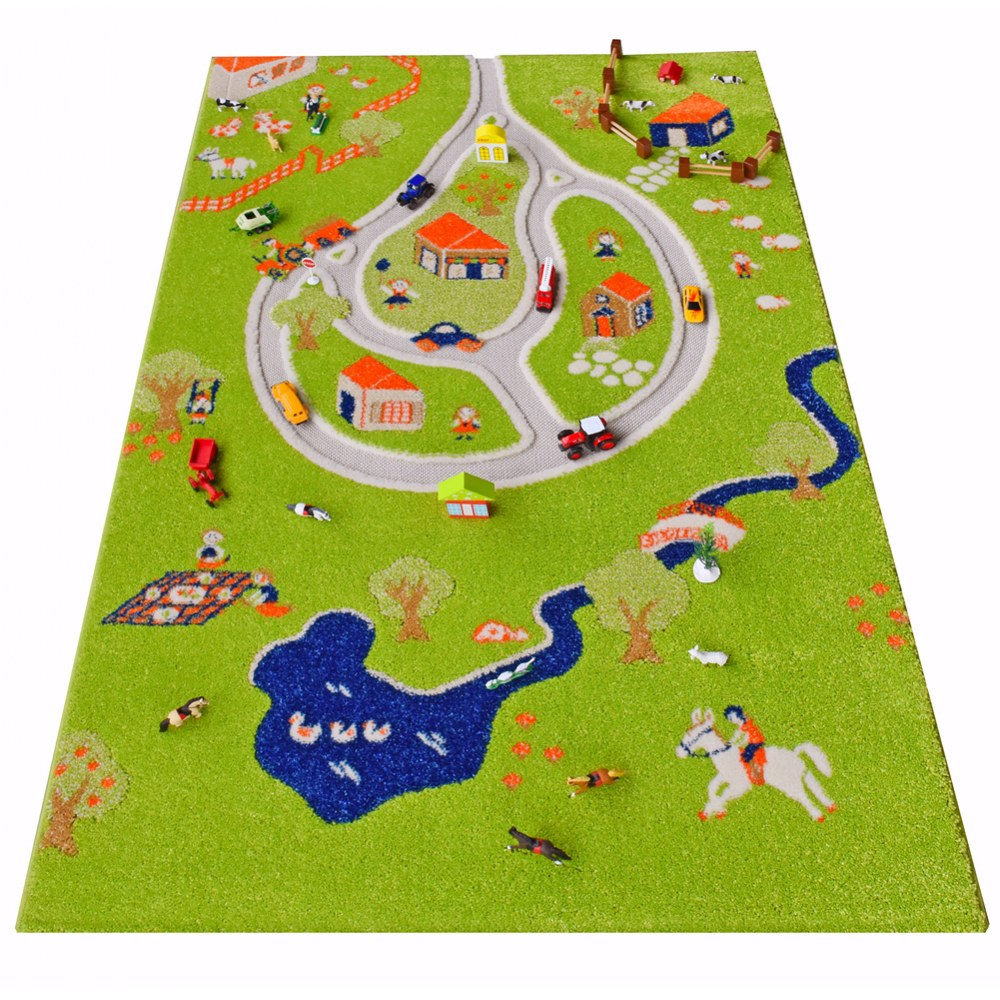 Alternate Image #7 of Farm 3D Rug - 3.25' x 5'